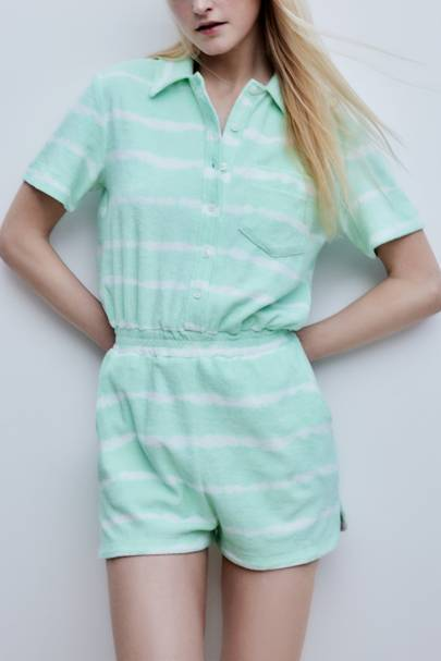 Summer 2021 Towelling Trend - Minty Fresh