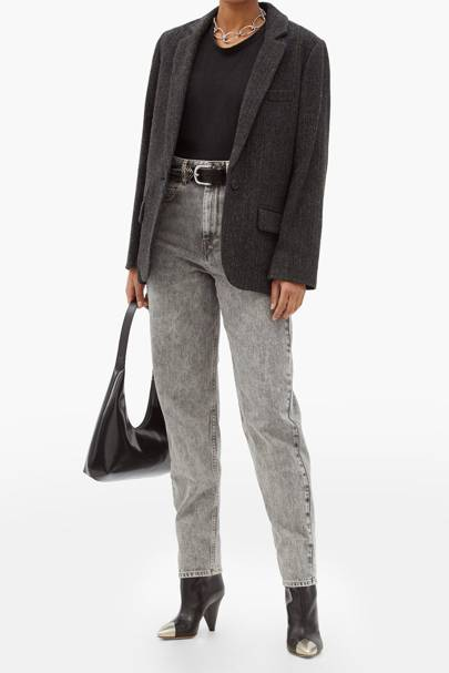 Best high-waisted jeans: Isabel Marant Etoile