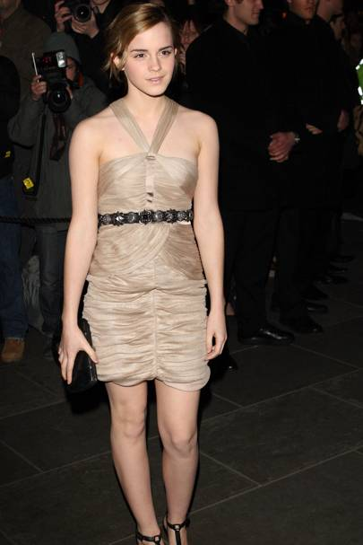 Emma Watson – All Ruched Up