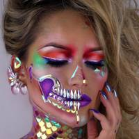 15 pretty halloween makeup ideas from instagram - Halloween Actors 2017