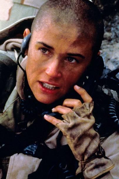 Demi Moore's Jarhead - GI Jane, 1997