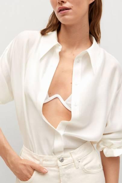 Best Women's White Shirts - Mango