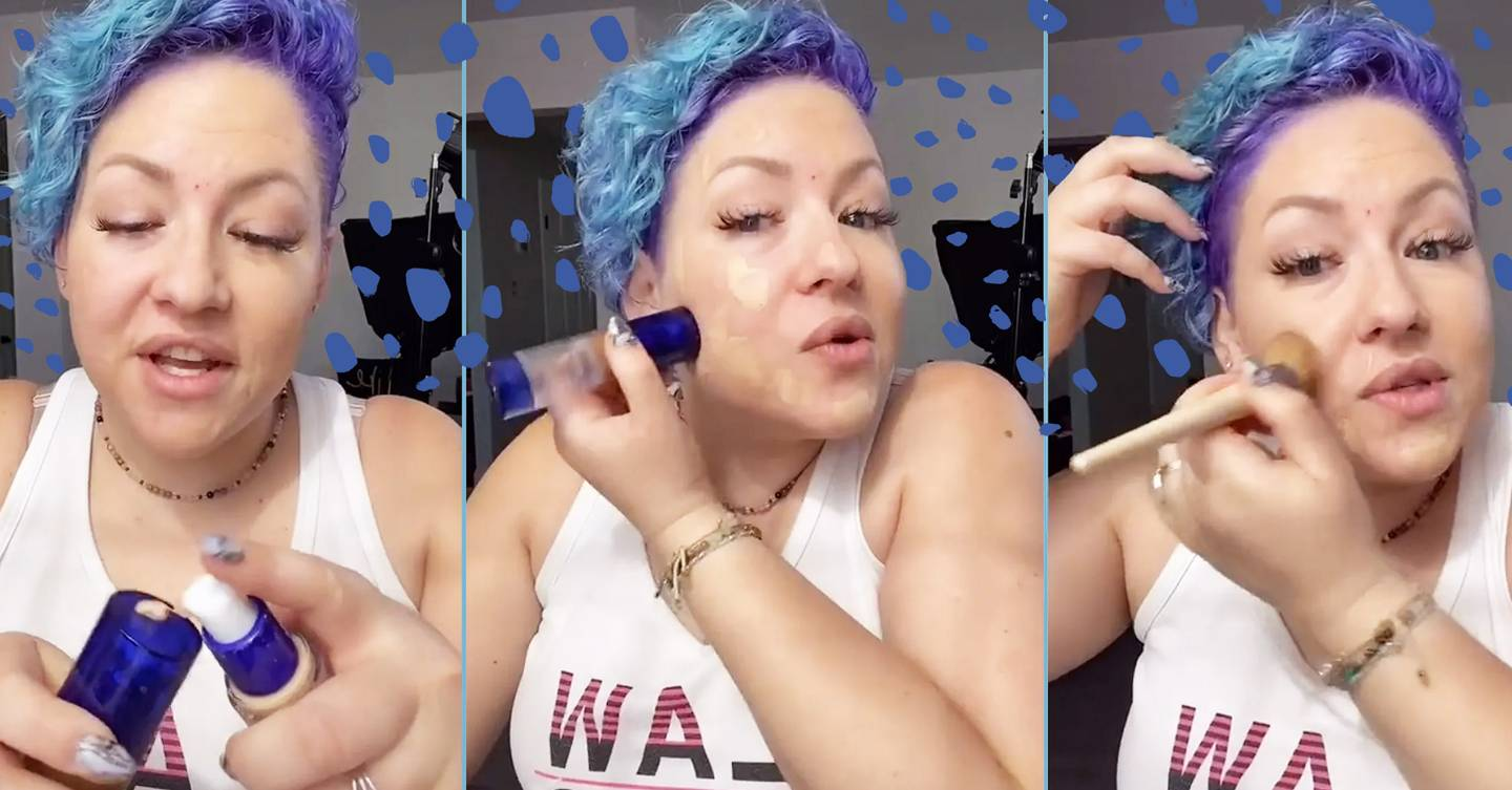 This makeup artist went viral on TikTok for her genius foundation
