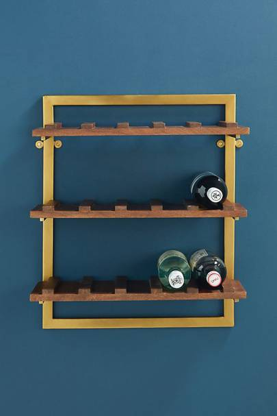 Best storage solutions: the bottle rack