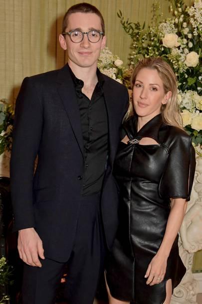 Ellie Goulding & Caspar Jopling