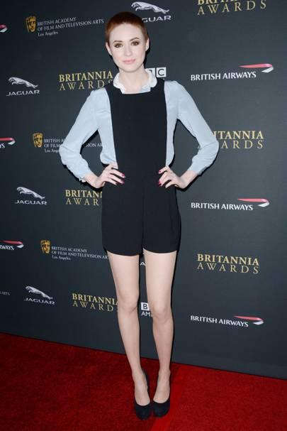 Karen Gillan at the 2013 BAFTA LA Britannia Awards