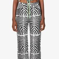 Zebra Print Trousers - House Of Sunny