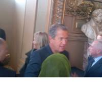 SPOTTED: Mario Testino backstage at Stella