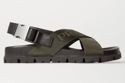 Best chunky dad sandals: Prada