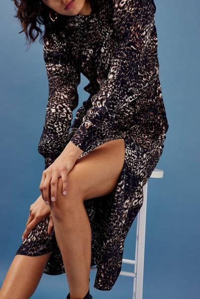 Topshop's Black Friday Sale: The animal print dress