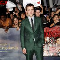 Robert Pattinson at the LA premiere