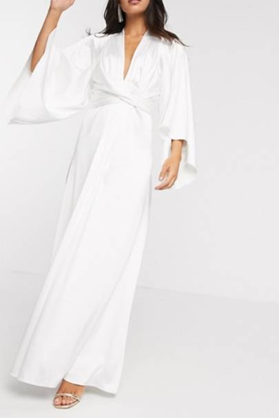 Best ASOS wedding dress with long sleeves