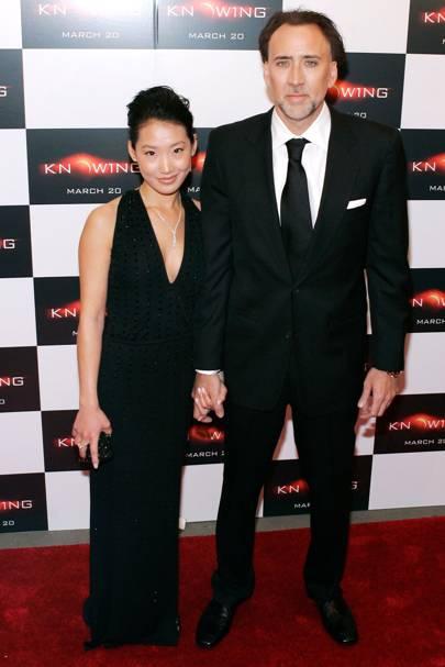 Nicolas Cage & Alice Kim