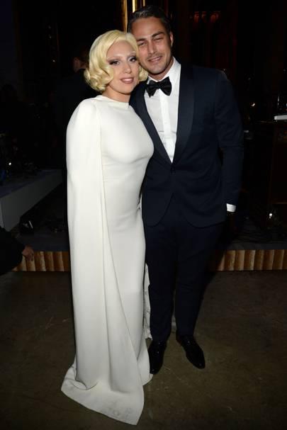 July: Taylor Kinney and Lady Gaga