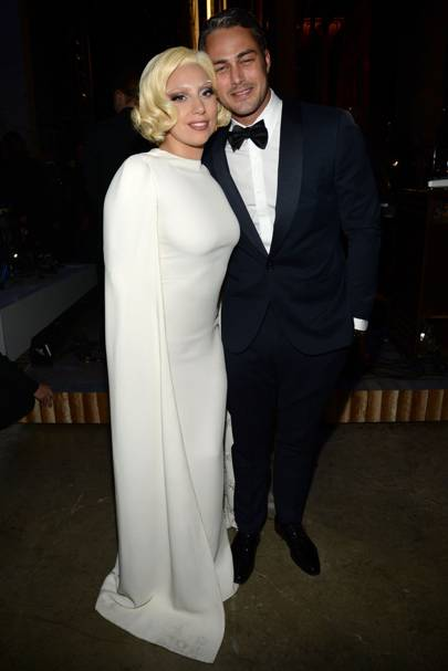 July: Taylor Kinney and Lady Gaga