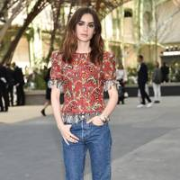 10.  Lily Collins