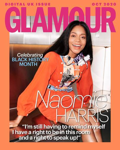 Black Lives Matter, Bullying and Bond: GLAMOUR'S October digital cover star, Naomie Harris, opens up