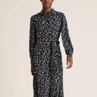 Best Shirt Floral Dress - Marks & Spencer