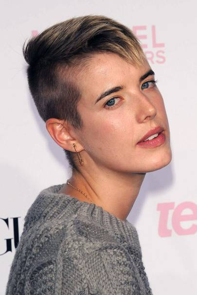 Celebrity Undercut Hairstyles Hair And Style Pictures Glamour UK - Undercut hairstyle london