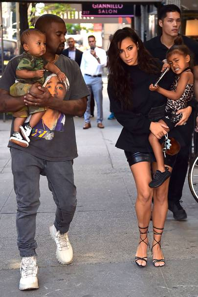 The Kardashian-Wests 👶🏾👶🏾