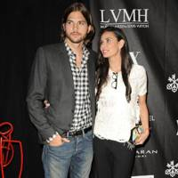 Ashton Kutcher & Demi Moore