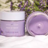 Puple Clay Mask by Touch of Finesse Co