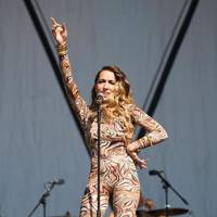 Delilah performs at Bestival 2012