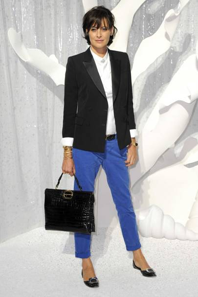 French Style Icons - Celebrity Fashion  Glamour Uk-7779