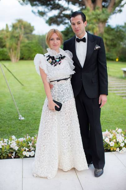 Josephine de la Baume and Mark Ronson
