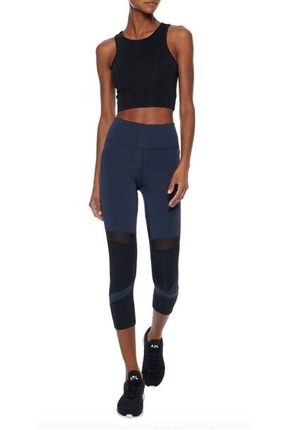 Best mesh panelled gym leggings