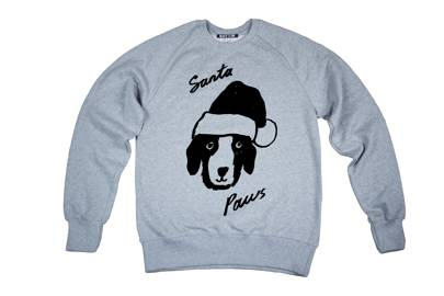Who doesn't love festive dogs? Plus all proceeds go to charity when buying this jumper. Win.