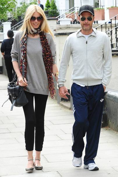 Claudia Schiffer & Matthew Vaughn
