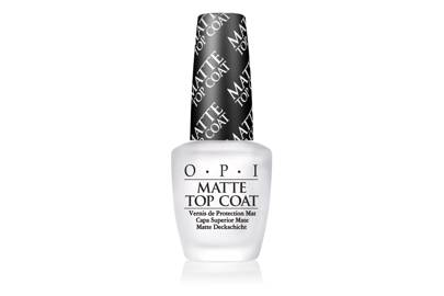 The luxe matte top coat