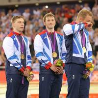 Philip Hindes, Jason Kenny & Chris Hoy