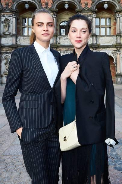September: Cara Delevigne and St Vincent