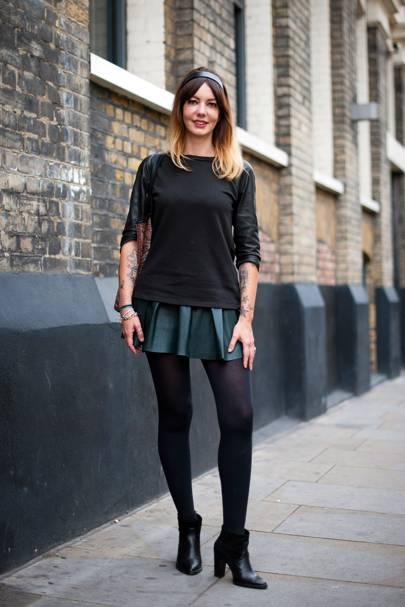 Aurelie Prevost, Store Manager at AllSaints