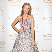 Blake Lively at a Parkinson's charity event in NY