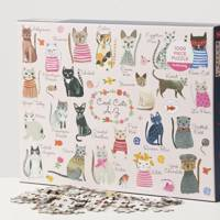 Best jigsaw puzzles for adults: for the cat mum