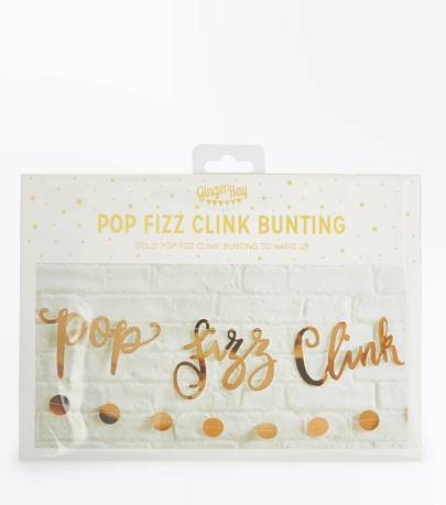 Pop Fizz Clink Bunting