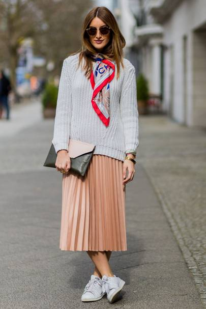 Do try a midi skirt
