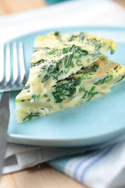 Mexican-Style Spinach Omelette