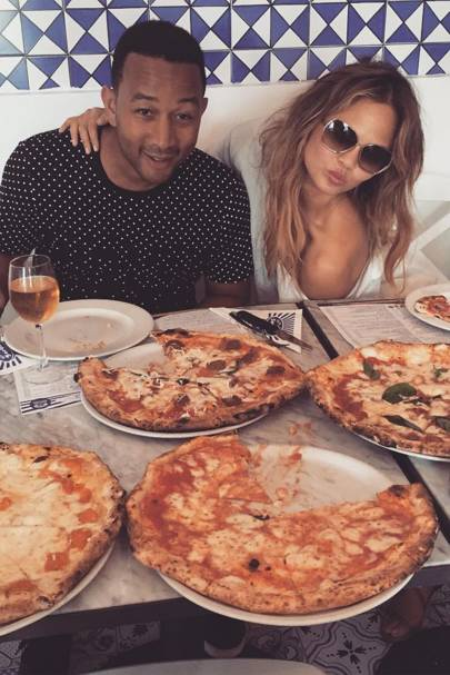 'I have come to realize that at some point in the day, I will order and consume a pizza so it might as well be in the morning.' - October 2015