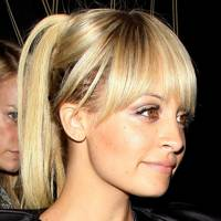 DO #10: Nicole Richie's full fringe and glossy up-do - August