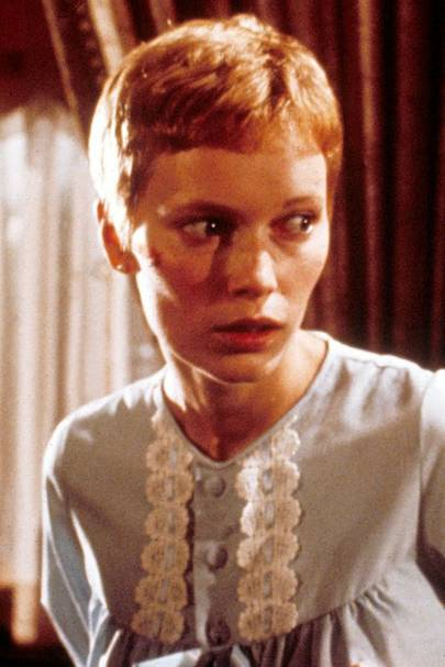Mia Farrow's Crop - Rosemary's Baby, 1967