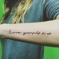 Quote Tattoo Designs Glamour Uk