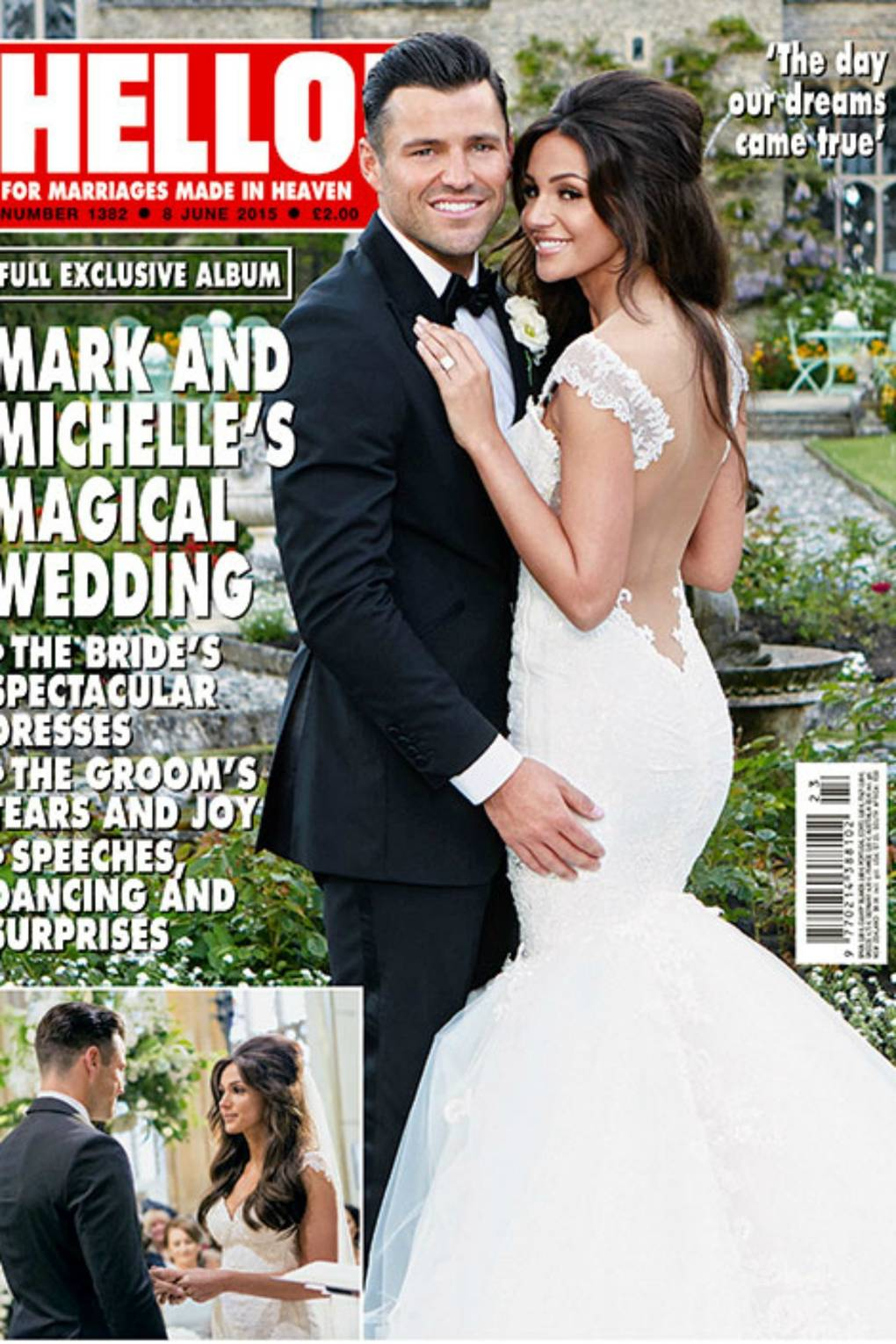 Mark Wright Michelle Keegan S Wedding Honeymoon The Dress Pictures 2017 Glamour Uk