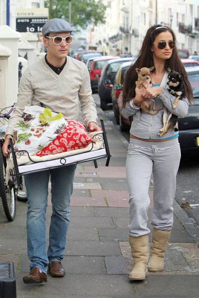 Chantelle Houghton and Preston