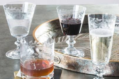Best drinking glasses: Graham & Green Whisky Glasses