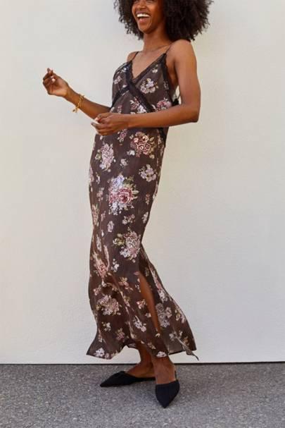 POST-LOCKDOWN SUMMER DRESSES: FLORAL SLIP