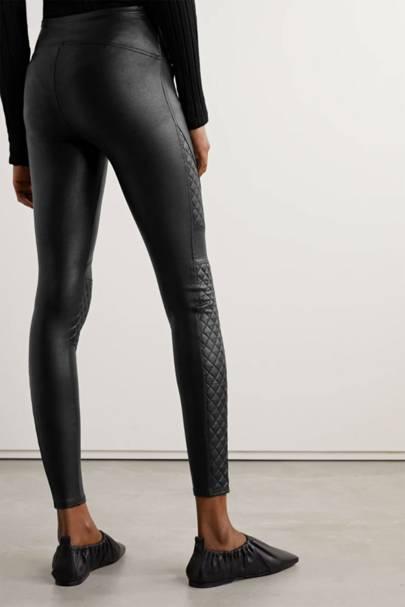 Best black leggings in faux leather
